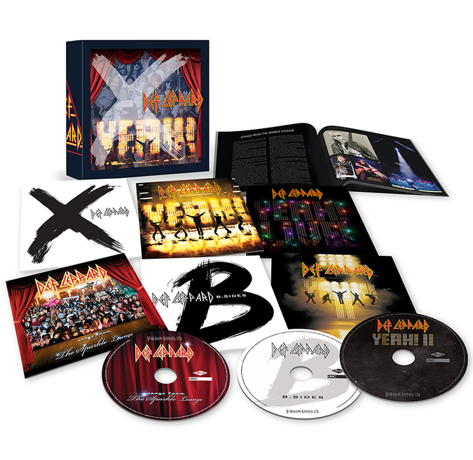 Def Leppard: Volume Three: Limited Edition CD Box Set
