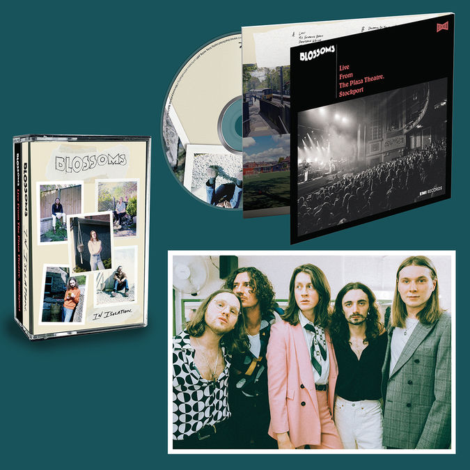 Blossoms: DOUBLE CD (SIGNED), DOUBLE COLOURED CASSETTE (SIGNED) & PRINT (SIGNED) BUNDLE