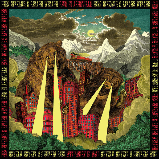 King Gizzard & The Lizard Wizard: Live In Asheville '19 (Fuzz Club Official Bootleg): 180gm Black Vinyl Box Set [limited to 334]