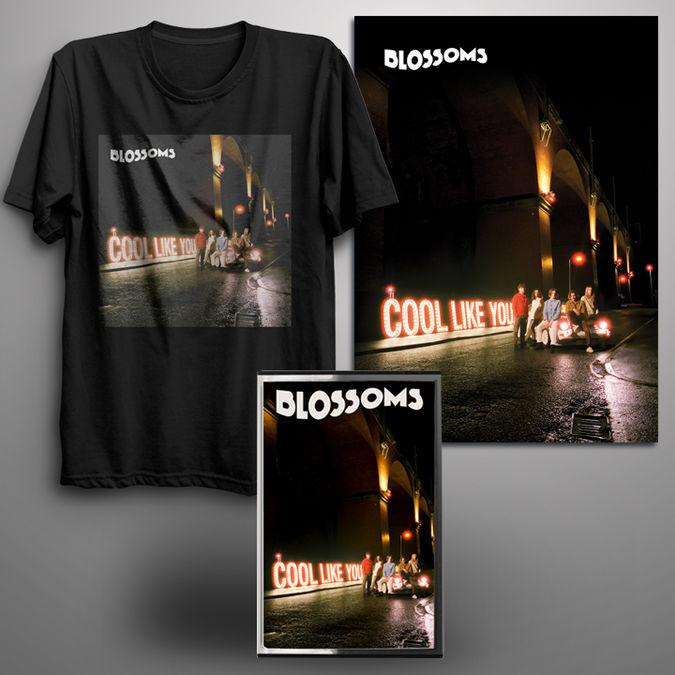 Blossoms: Signed Cassette + Digital Album + T-Shirt + Signed Art Print