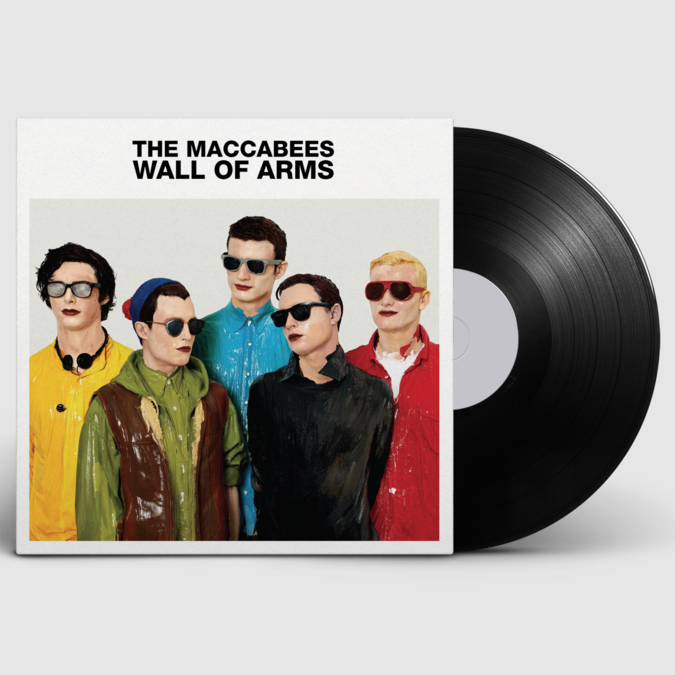The Maccabees: Wall Of Arms LP