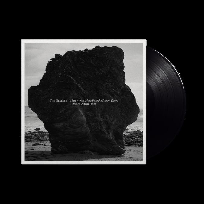 Damon Albarn: The Nearer the Fountain, More Pure the Stream Flows: Signed Black Vinyl LP