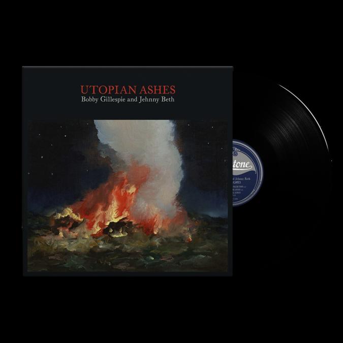 Bobby Gillespie: Utopian Ashes: Black Vinyl LP