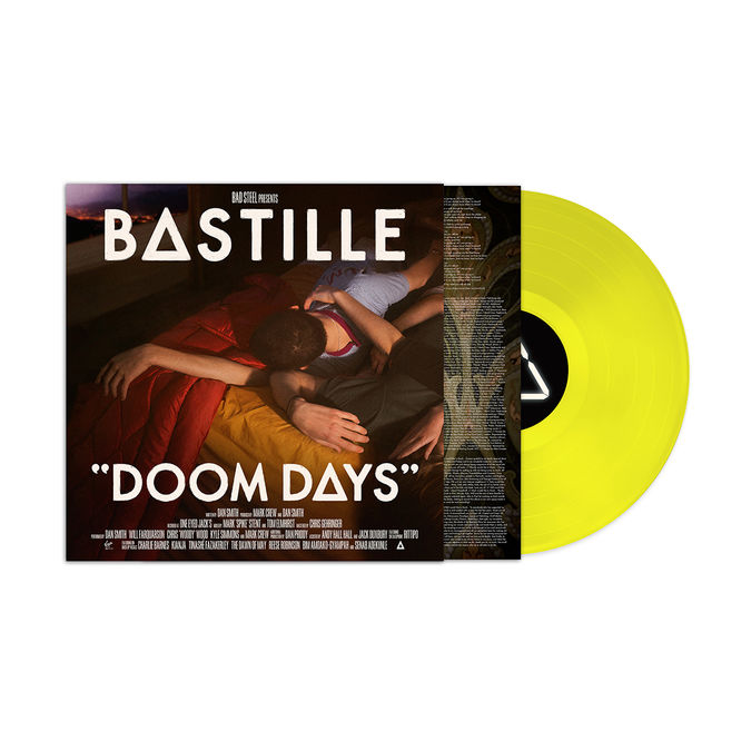Bastille: Limited Edition Florescent Doom Days Vinyl