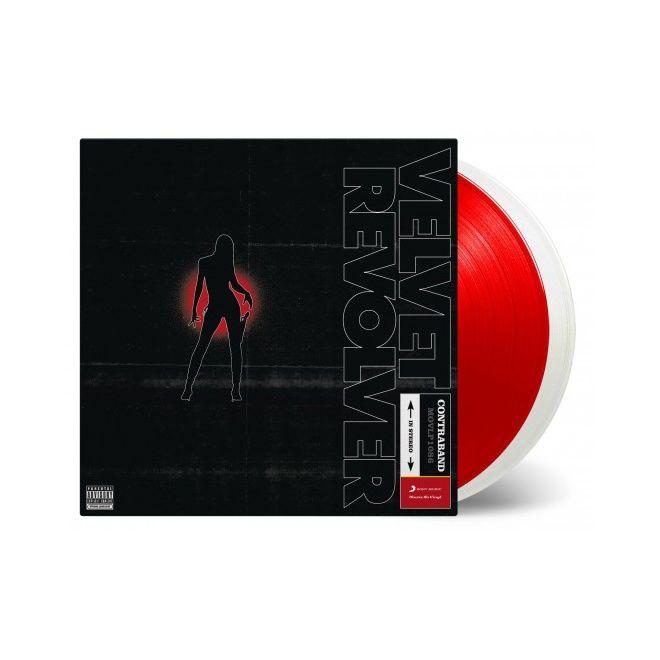 Velvet Revolver: Contraband: Limited Edition Red & White Coloured Vinyl
