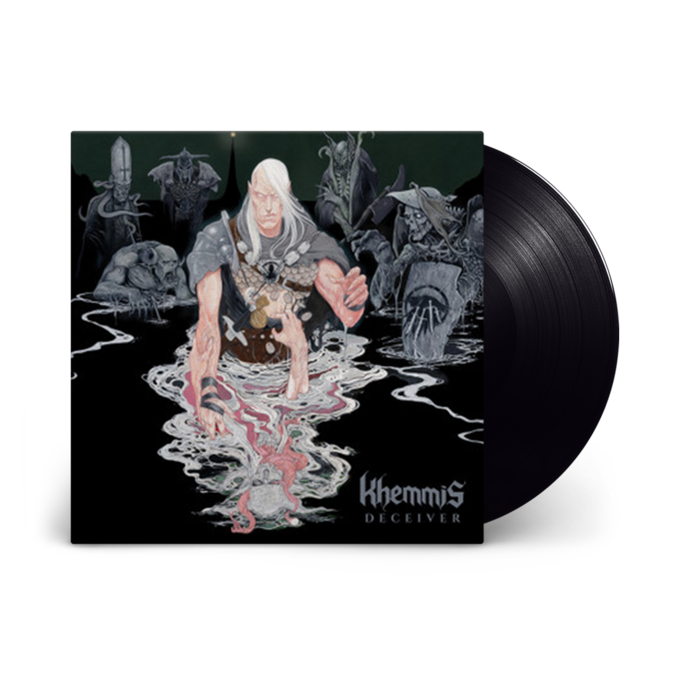 Khemmis: Deceiver: Black vinyl LP