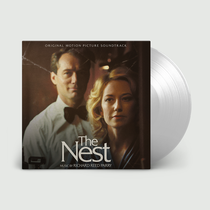Richard Reed Parry: Nest (Original Soundtrack): Limited Edition Crystal Clear Vinyl LP