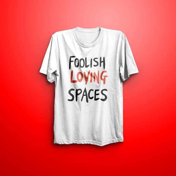 Blossoms: Foolish Loving Spaces T-shirt - XL