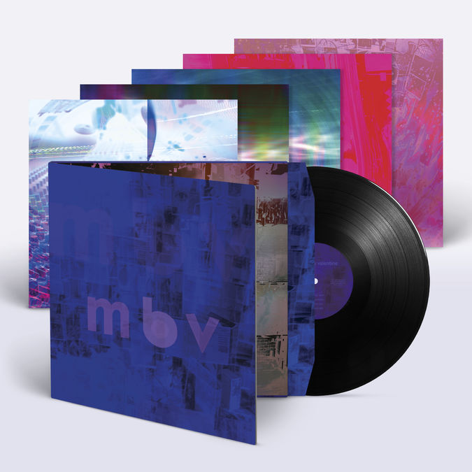 my bloody valentine: m b v: Deluxe Edition 180gm Gatefold Vinyl LP