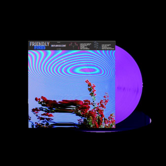 Friendly Fires: Inflorescent Purple Vinyl - UK Exclusive