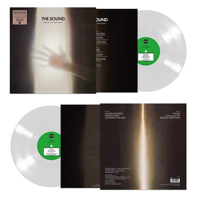 The Sound: Shock Of Daylight: Limited Edition Clear Vinyl