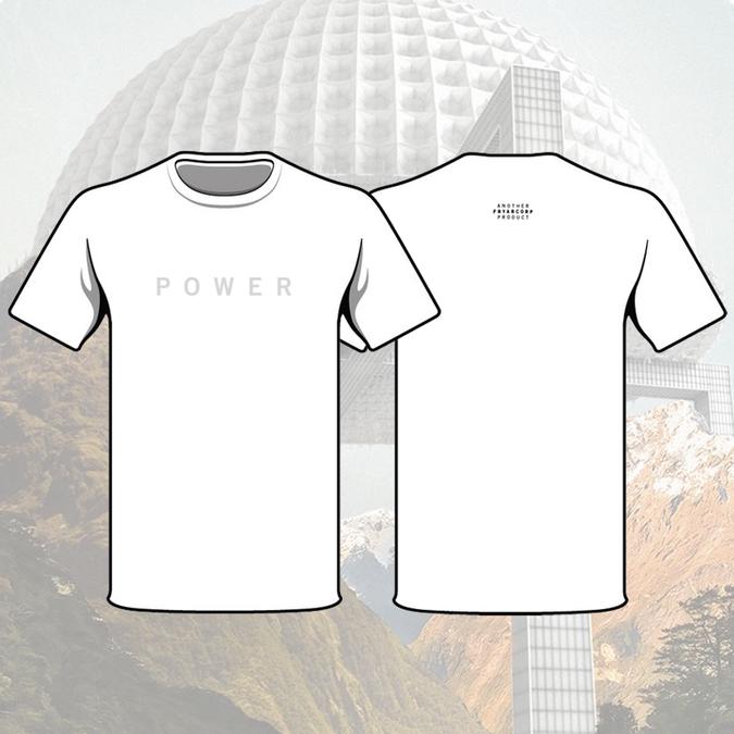 Fryars: Fryars Power White Small T-Shirt