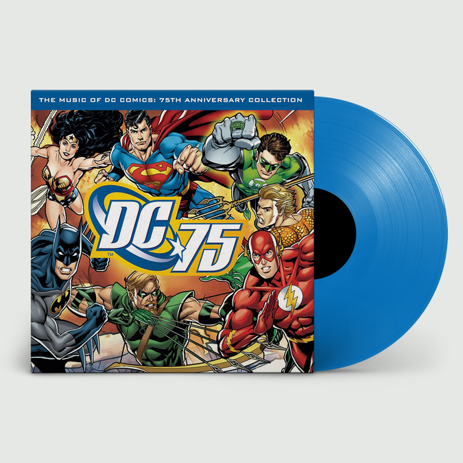 Original Soundtrack: Music of DC Comics: Limited 75th Anniversary Edition Blue Vinyl