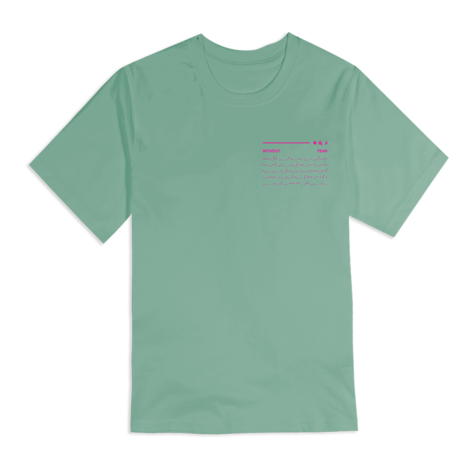 Dermot Kennedy: Orbit Tee: Pastel Green