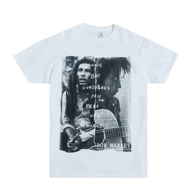 Bob Marley: Free Our Mind White T-Shirt M