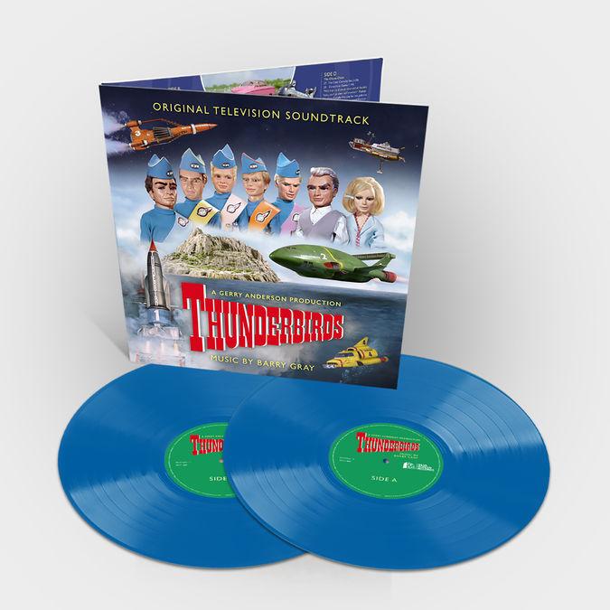 Original Soundtrack: Thunderbirds [Original TV Soundtrack]: Limited Edition Sky Blue Vinyl