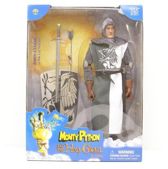 Monty Python: Monty Python and the Holy Grail John Cleese as Sir Launcelot Collectible 12