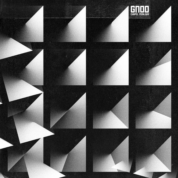 Gnod: Chapel Perilous: Clear/Black Splatter Vinyl LP