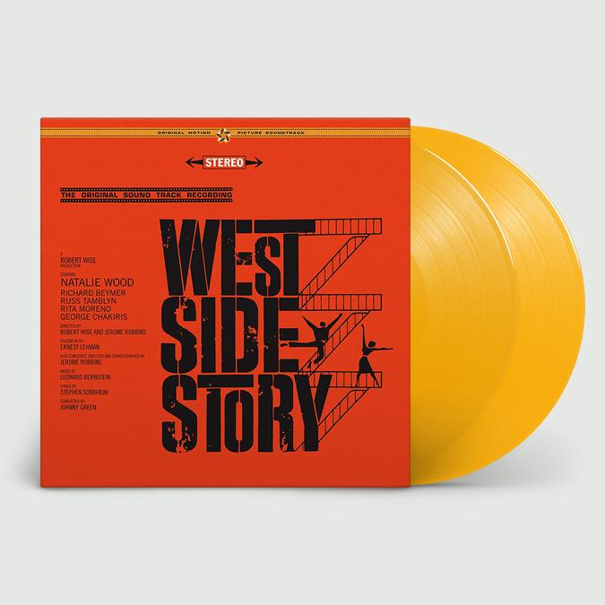 Original Soundtrack: West Side Story: Limited Edition Gatefold Yellow Vinyl