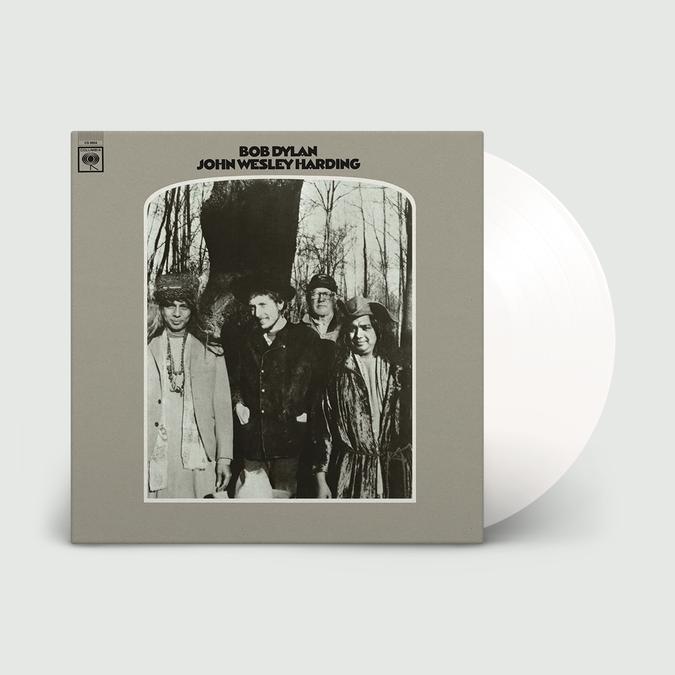 Bob Dylan: John Wesley Harding: Limited Edition White Vinyl