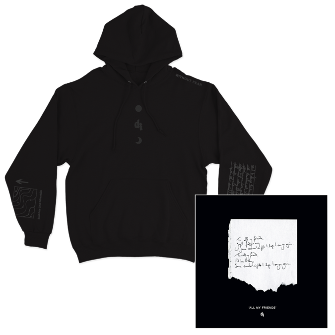 Dermot Kennedy: Signed Litho + Black on Black Hoodie