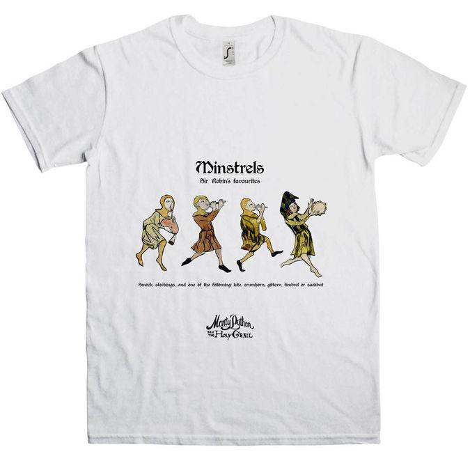 Monty Python: Holy Grail Minstrels T-Shirt