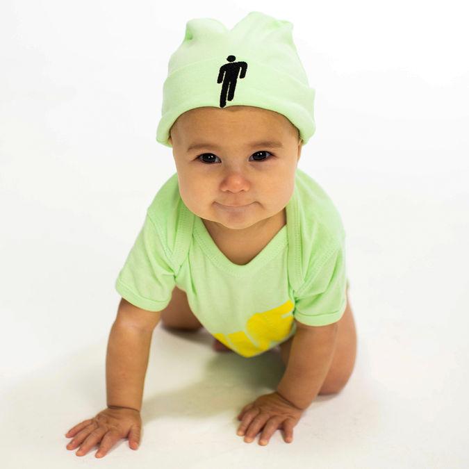 Billie Eilish: Blohsh Green Knit Toddler Beanie