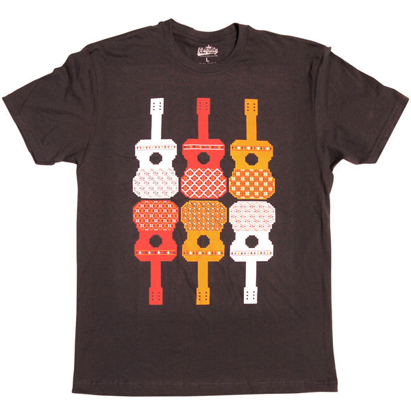 Ubiquity Records: Guitar Pattern Small T-Shirt