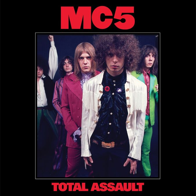 MC5: Total Assault: 50th Anniversary Collection Coloured Vinyl Box Set
