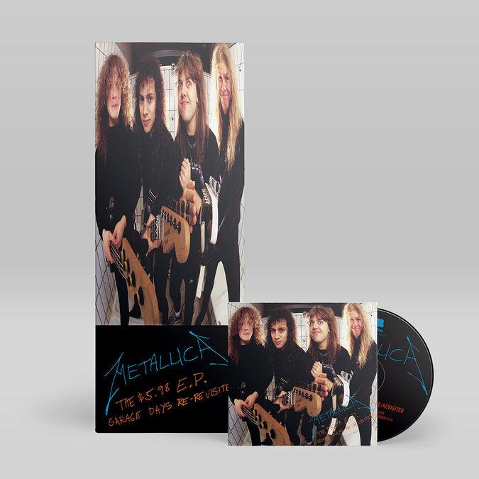Metallica: The $5.98 E.P. - Garage Days Re-Revisited Longbox