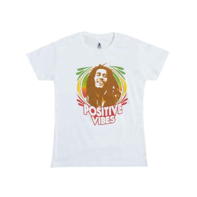 Bob Marley: Youth Positive Vibes T-Shirt - M