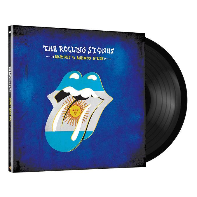 The Rolling Stones: Bridges To Buenos Aires: Black Vinyl