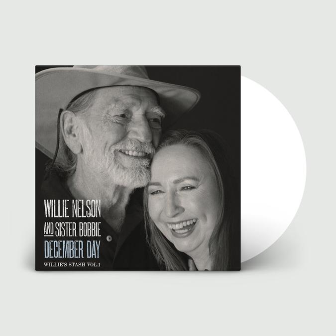 Willie Nelson: December Day (Willie's Stash Vol. 1): Limited Edition Snow White Vinyl