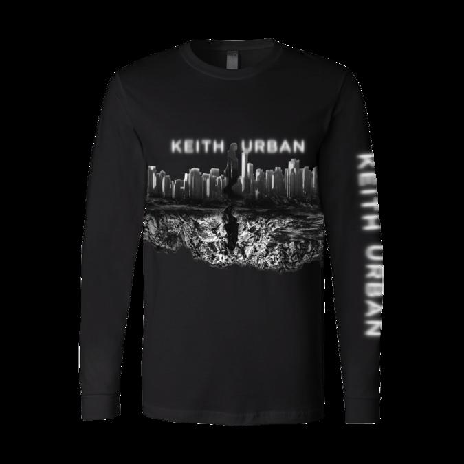 Keith Urban: Skyline Black Long Sleeve
