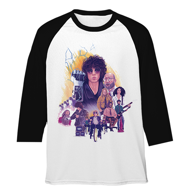 Barns Courtney: 404 Long Sleeve Tour T-shirt - M