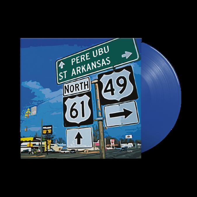 Pere Ubu: St. Arkansas: Limited Edition Dark Blue Vinyl