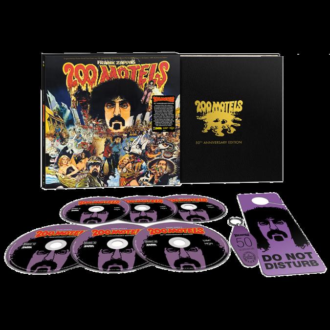 """Frank Zappa: """"200 Motels"""" Original Soundtrack: Limited Edition 6CD"""