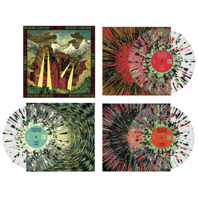King Gizzard & The Lizard Wizard: Live In Asheville '19 (Fuzz Club Official Bootleg): 180gm Splatter Vinyl Box Set [hand-numbered /666]