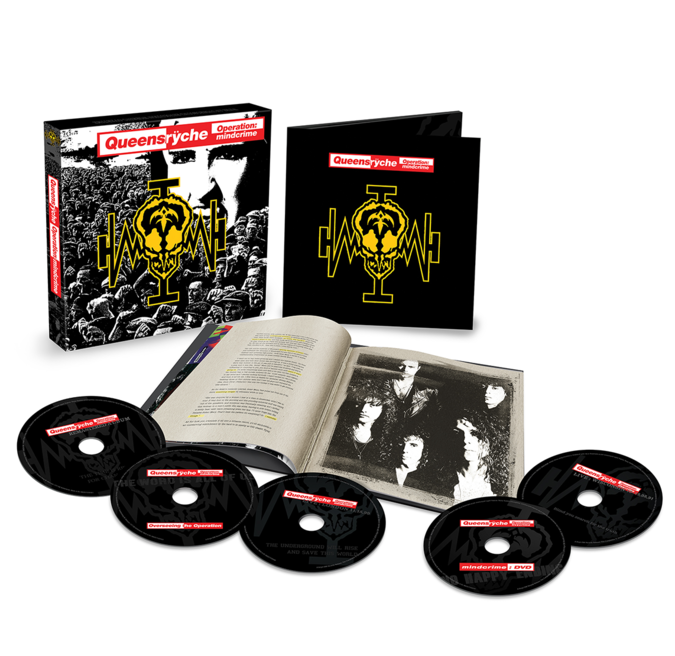 Queensryche: Operation: Mindcrime: 4CD/DVD