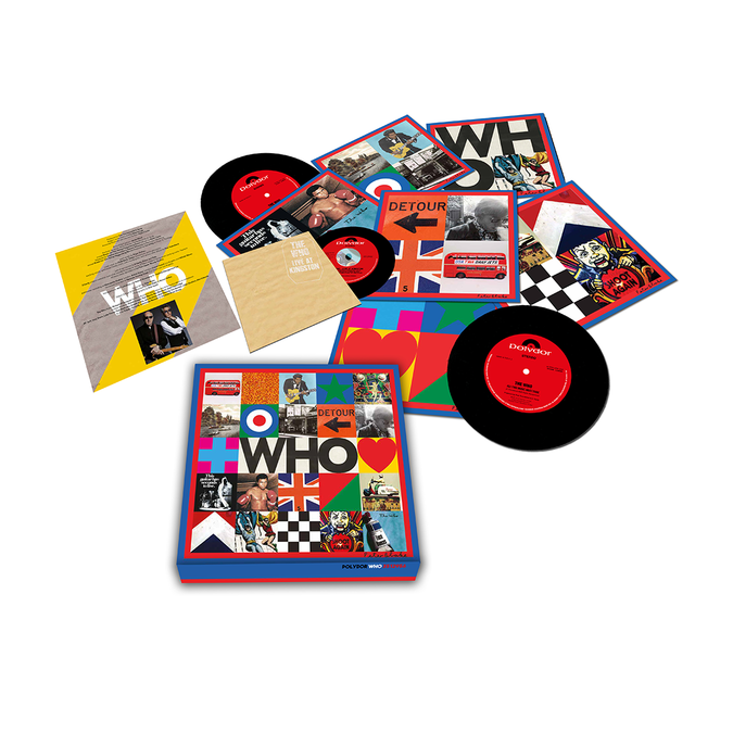 "The Who: The Who – 'WHO' (7"" Boxset w/ Live At Kingston CD)"