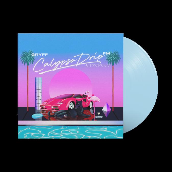 gryff: Calypso Drip FM: Light Blue Vinyl LP