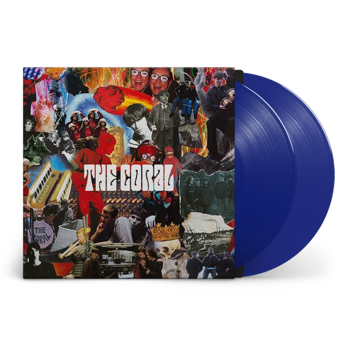 The Coral: The Coral: Signed Recordstore Exclusive 20th Anniversary Blue Vinyl 2LP