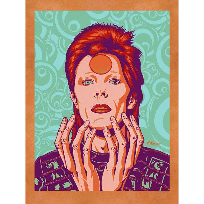 David Bowie: Glam Messiah: Gold-Velvet