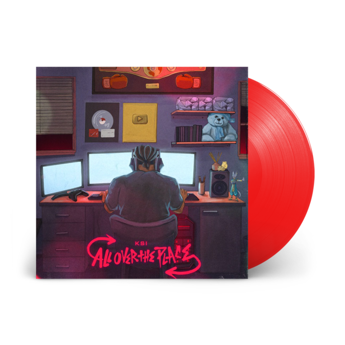 KSI: All Over the Place: Limited Edition Red Vinyl LP