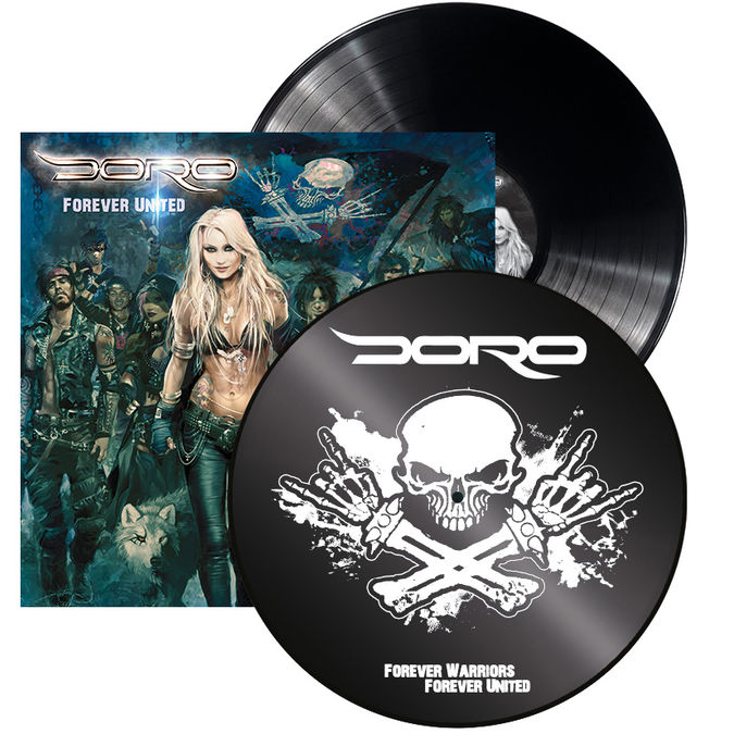 Doro: Forever United: Limited Edition Gatefold Vinyl + Signed Photocard