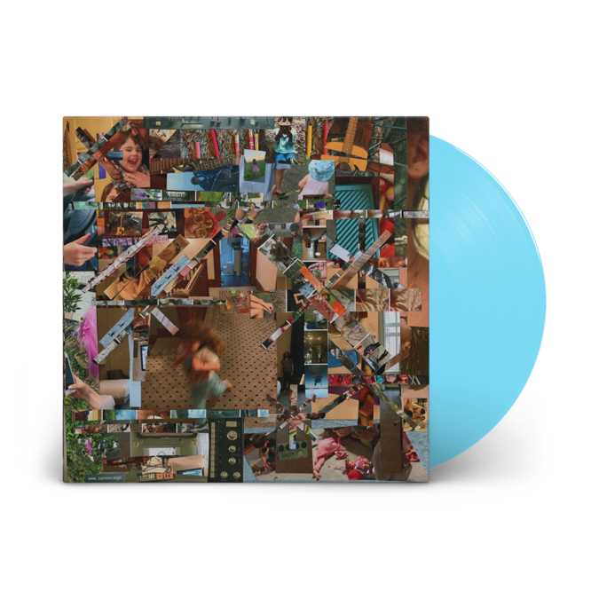 Lou Barlow: Reason To Live: Light Blue Vinyl LP + Signed Print