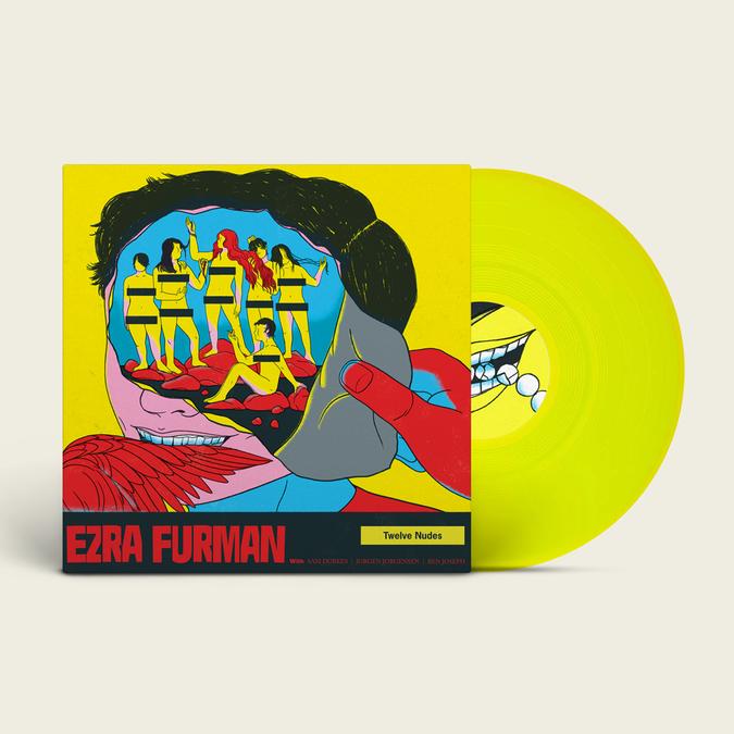 Ezra Furman: Twelve Nudes: Limited Edition Yellow Vinyl