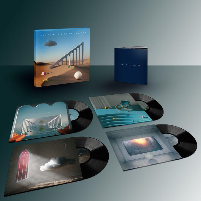 Apparat: Soundtracks: Limited Edition 4LP Vinyl Box Set