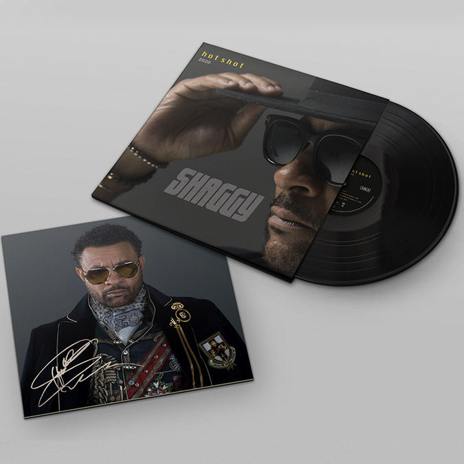 Shaggy: HOT SHOT 2020 2LP with Signed Litho