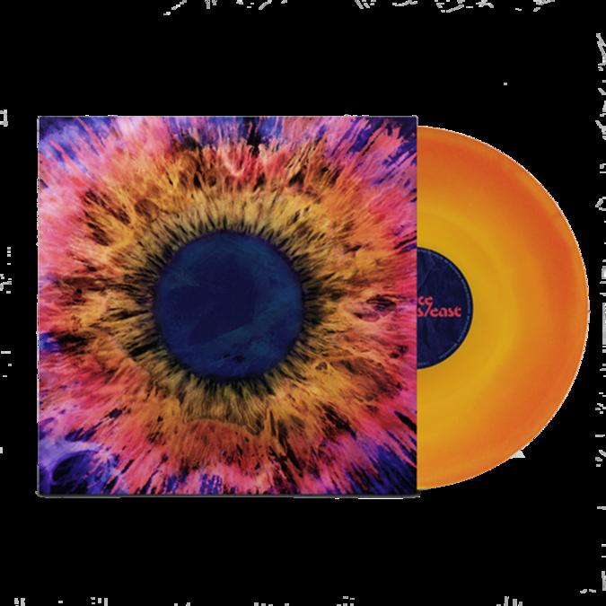 THRICE: HORIZONS / EAST: Neon Yellow + Violet Vinyl LP